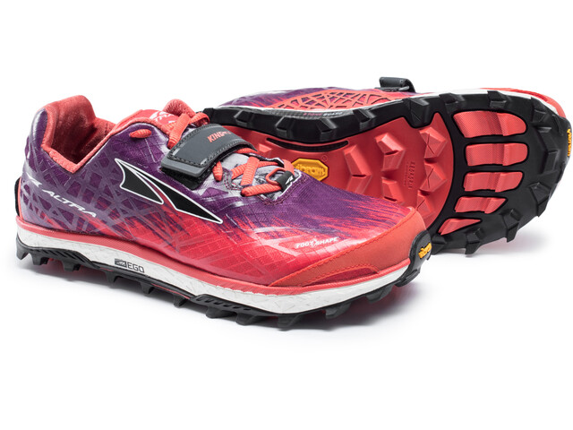 Altra King MT 1.5 Löparskor Dam orange/violett